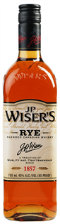 Wiser's Canadian Whisky Rye 750ml